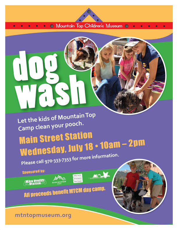 Dog Wash Flyer